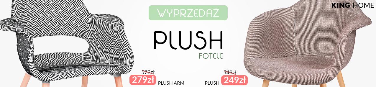 Wyprzedaż foteli Plush i Plush Arm