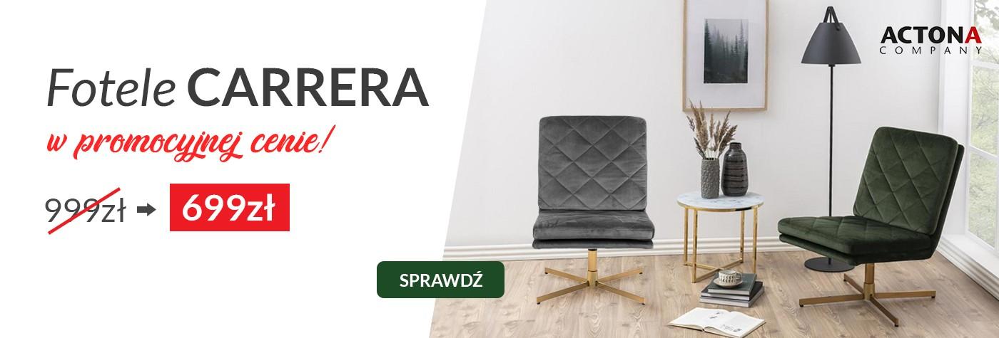 Fotele Carrera od Actona Company