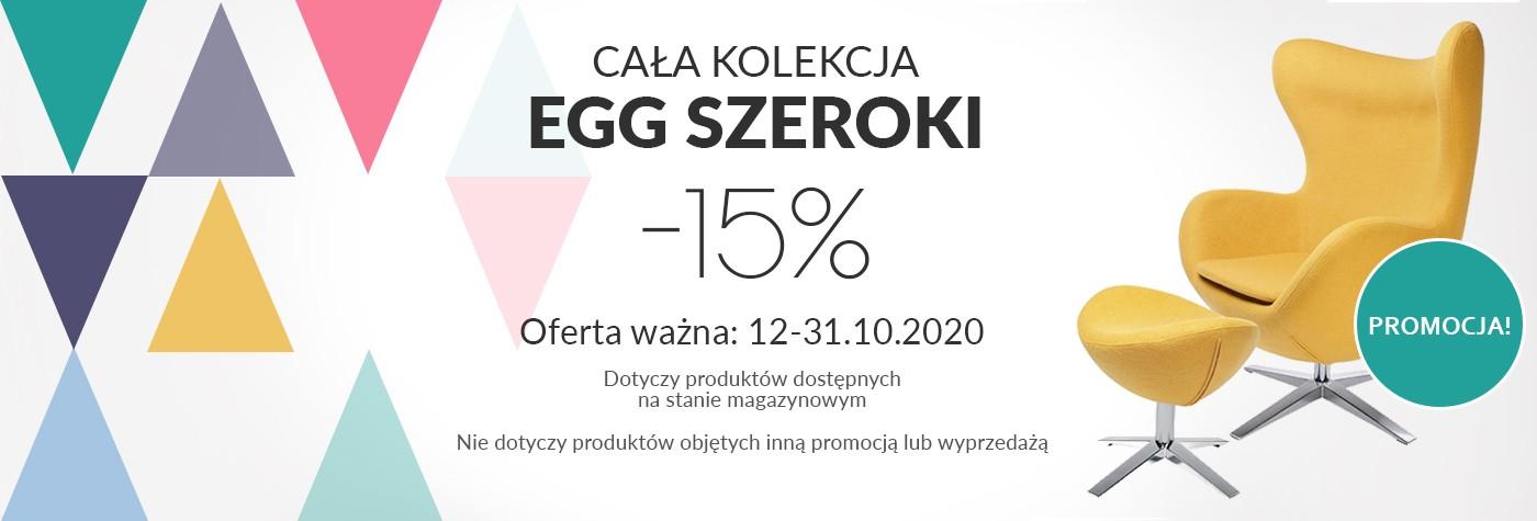 EGG SZEROKI -15% do 31.10.2020