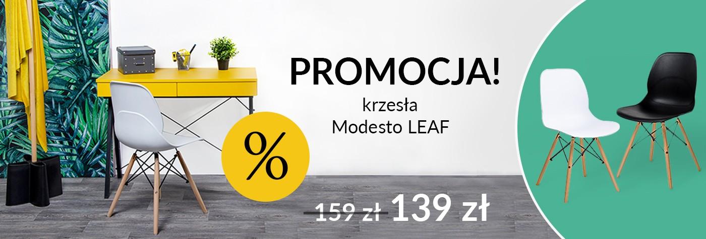 MODESTO krzesła LEAF - promocja
