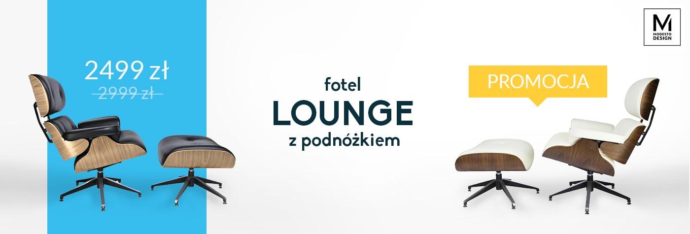 Fotele Lounge Modesto - promocja